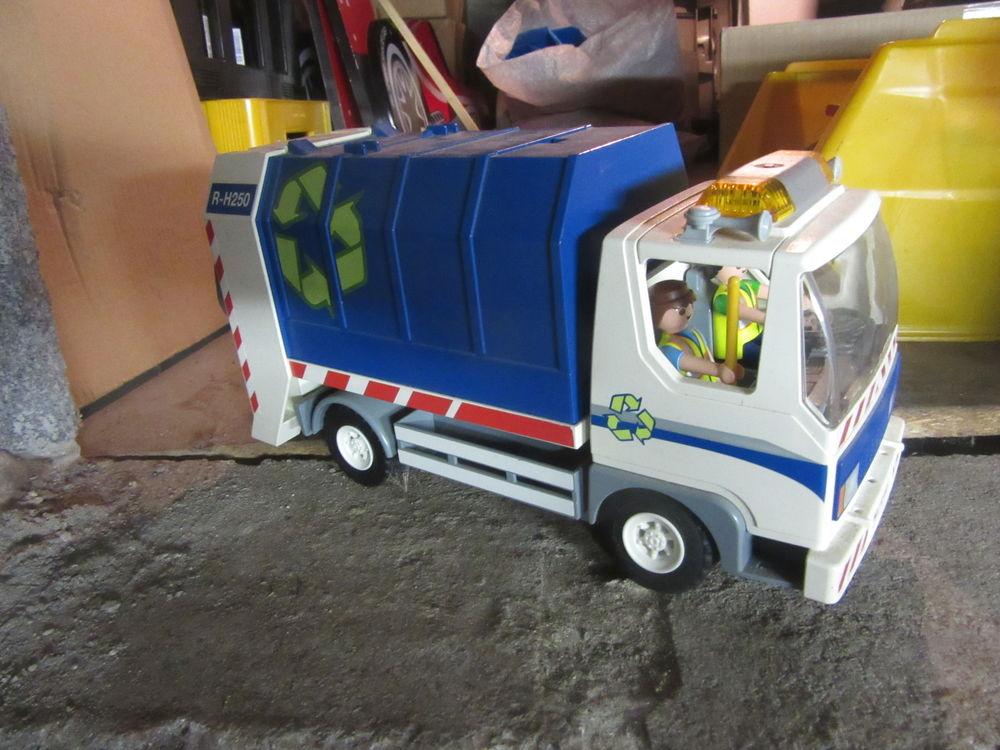 Camion Poubelle Playmobil 25 La Sentinelle (59)
