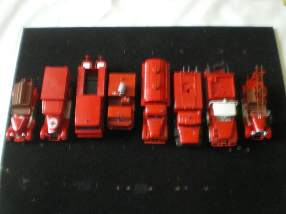 Camions de Sapeurs-Pompiers Solido 18 pièces. 12 Caen (14)