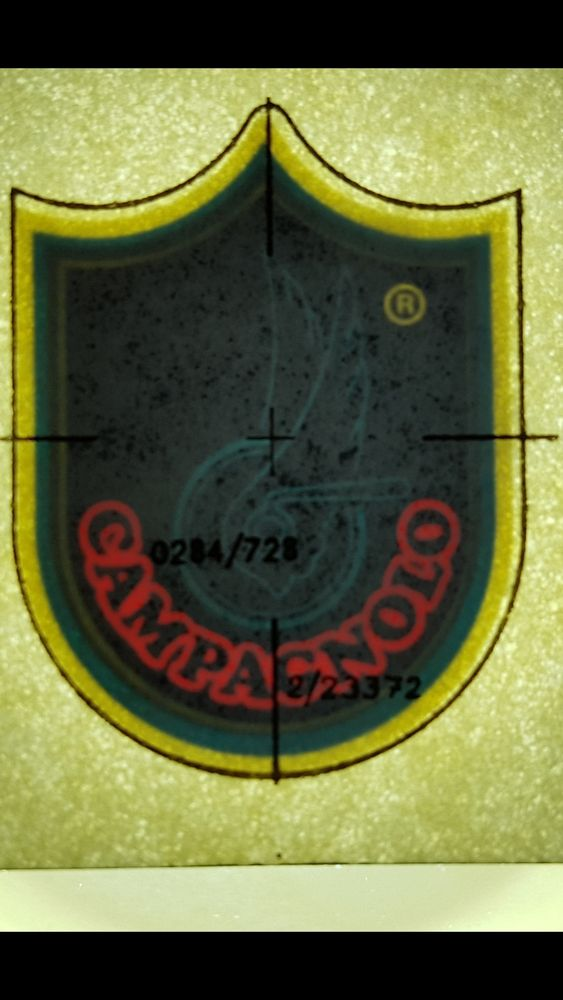 CAMPAGNOLO 0 Strasbourg (67)