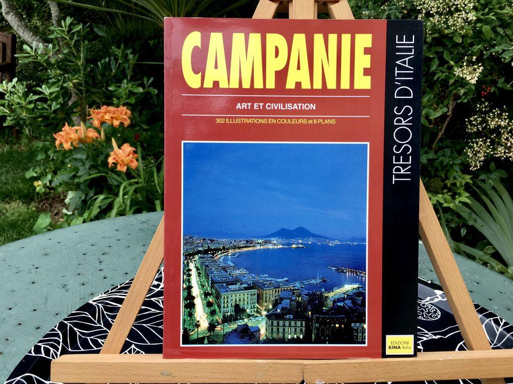 CAMPANIE Art et Civilisation, Trésors d'Italie;Livre Neuf Livres et BD