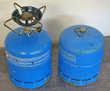GAZ CAMPING GAZ INTERNATIONAL - 2 BONBONNES +-EQUIPEMENT
