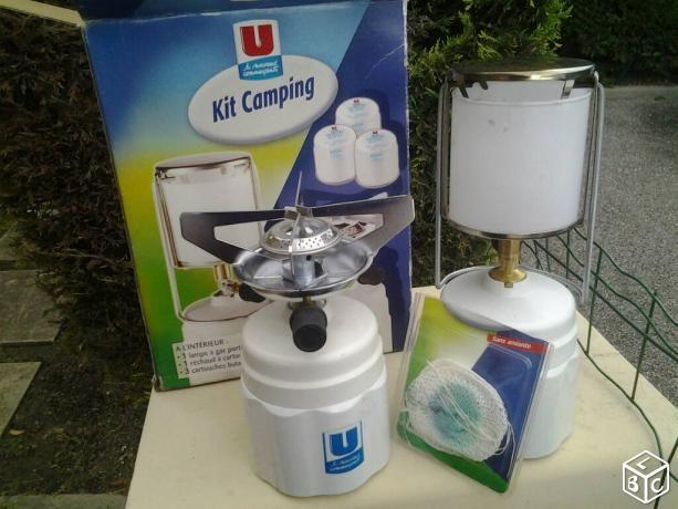 Kit camping - lampe et réchaud à gaz  20 Oullins (69)