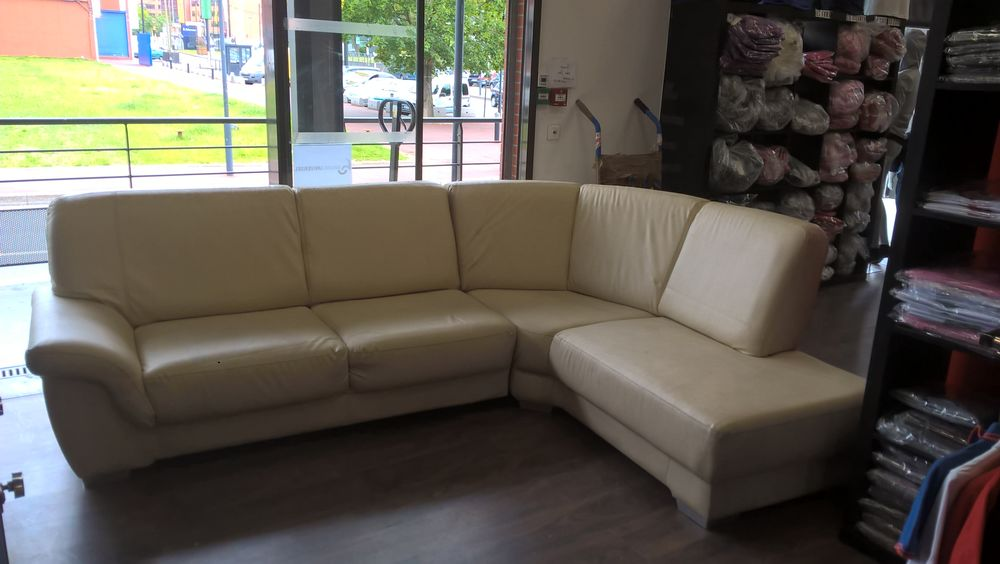 CANAPE D'ANGLE BEIGE  0 Aubervilliers (93)
