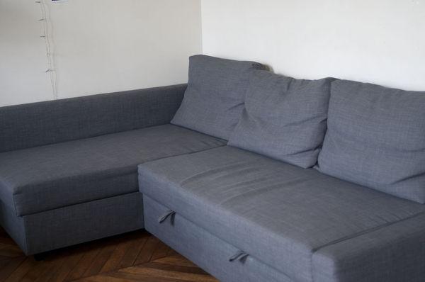 achetez canap d 39 angle occasion annonce vente paris 75. Black Bedroom Furniture Sets. Home Design Ideas