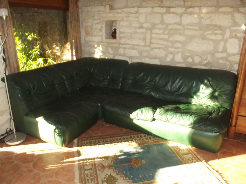 Achetez canap d 39 angle occasion annonce vente annepont 17 wb154629868 - Canape cuir convertible occasion ...