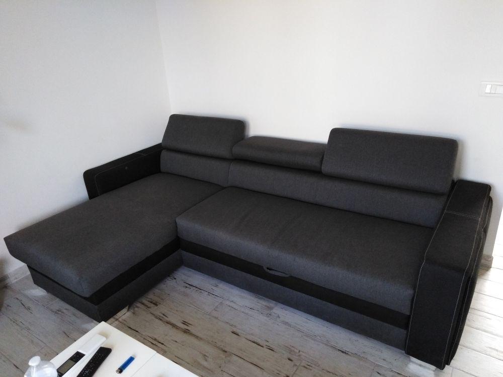 Canapé d àngle convertible et réversible 680 Istres (13)