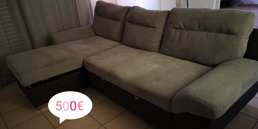 Canapé d'angle convertible plus coffre  0 Petit-Bourg (97)