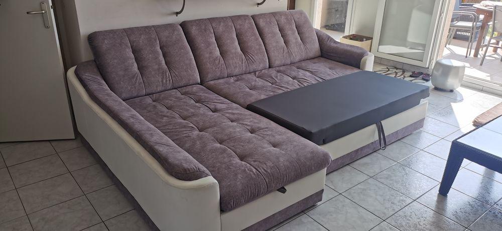 Canapé d'angle convertible  450 Nice (06)