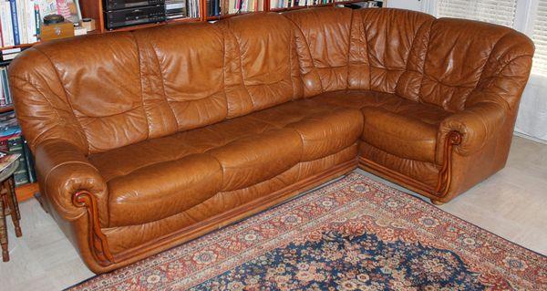 Achetez canap d 39 angle cuir occasion annonce vente for Canape moins de 100 euros