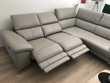 canapé d' angle en cuir avec 2 relax  Cerny (91)