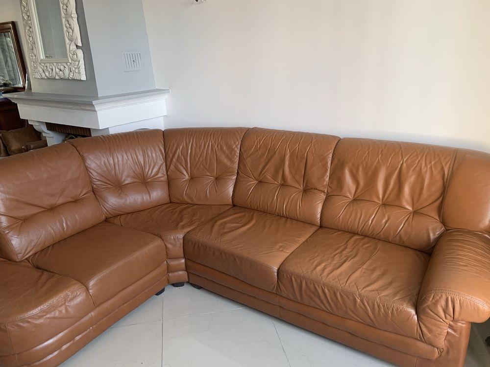 canapé d'angle en cuir  130 Draveil (91)