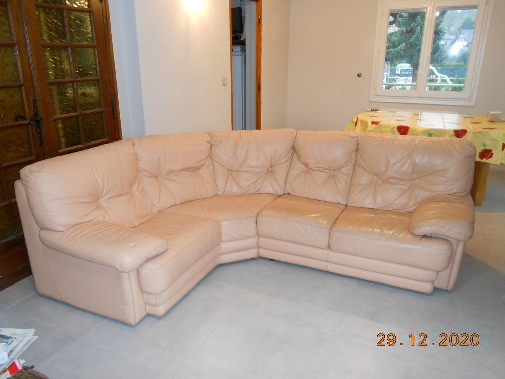 Canapé d'angle cuir 300 Rumilly (74)