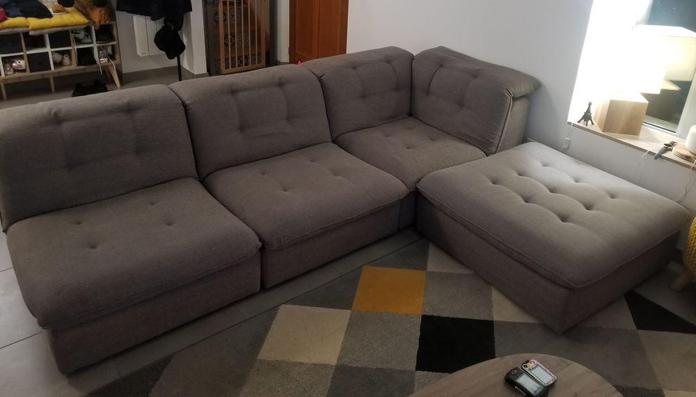 Canapé d'angle Cuir Center de 2018. 990 Mézières-en-Drouais (28)