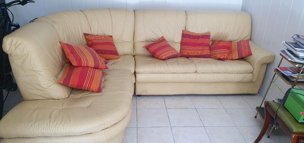 Canapé d'angle cuir 100 Herblay (95)