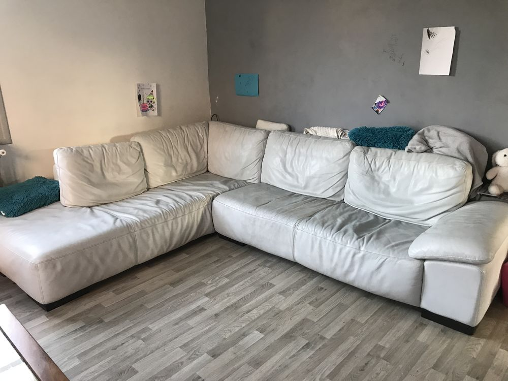 Canapé d'angle cuir 150 Dijon (21)