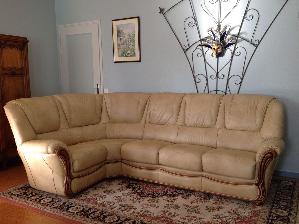 Canape d'angle en cuir  450 Champniers-et-Reilhac (24)