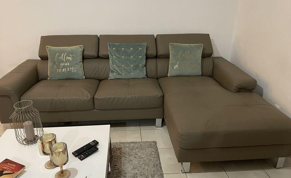 Canapé d'angle droit cuir 0 Chavanoz (38)
