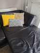Canapé d'angle gauche en cuir Meubles