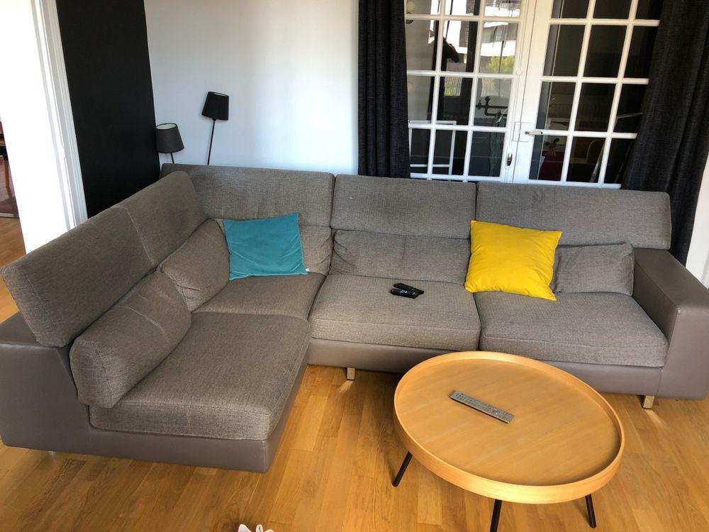 Canapé d'angle gris 550 Cesson-Sévigné (35)