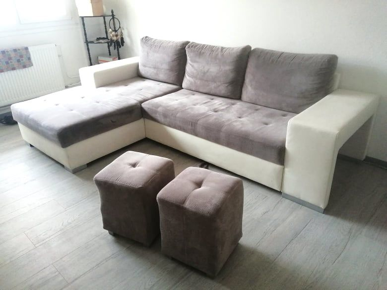 Canapé d'angle gris 400 Metz (57)