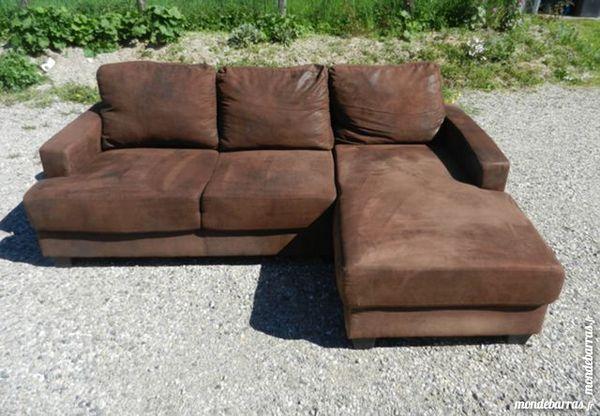 canap s cuir angle occasion en rh ne alpes annonces achat et vente de canap s cuir angle. Black Bedroom Furniture Sets. Home Design Ideas