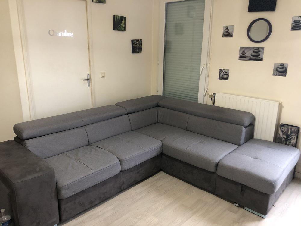 Canapé d'angle bi-matière  400 Nanterre (92)