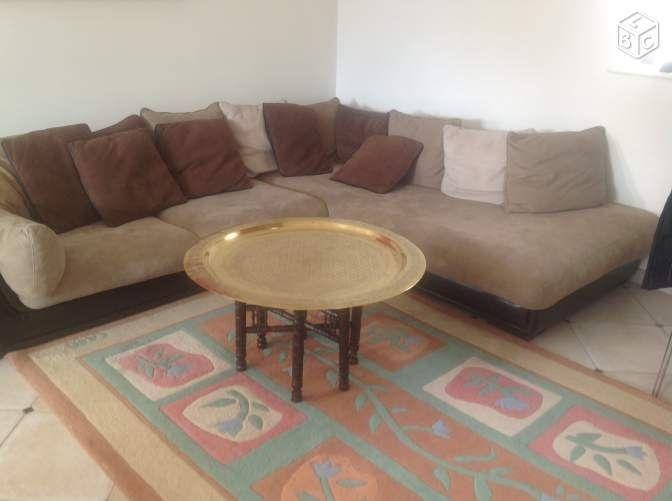 canap s cuir angle occasion dans l 39 indre et loire 37 annonces achat et vente de canap s cuir. Black Bedroom Furniture Sets. Home Design Ideas