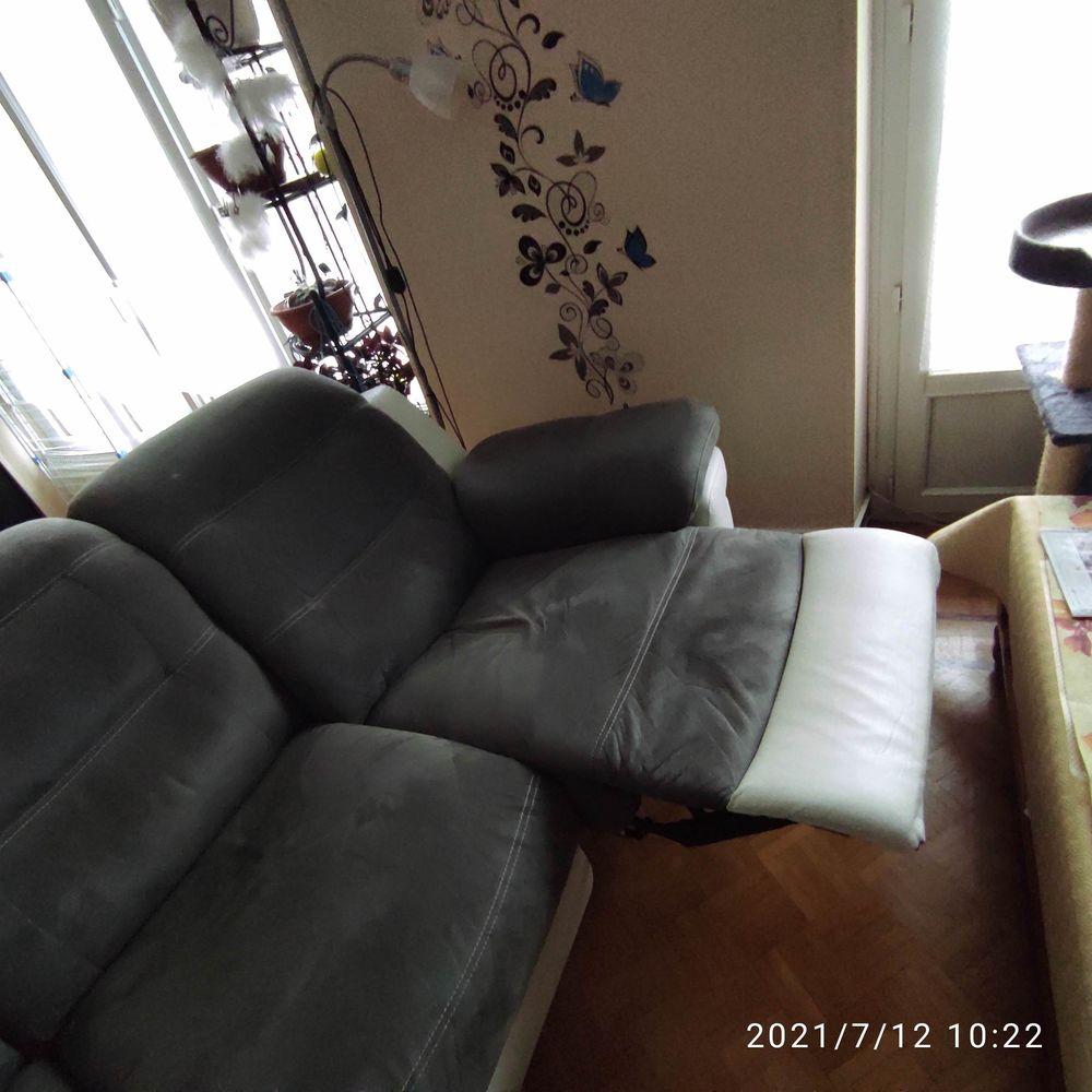 Canapé d'angle 5 places avec relax électrique 400 Rodez (12)