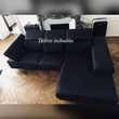 Canapé d'angle Poltronesofa noir sous garantie Pont-à-Mousson (54)