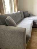 Canapé d'angle, table chinoise + chaises et un meuble TV 400 Saint-Ouen (93)
