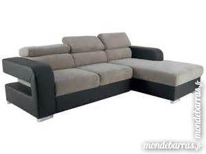 Canapé d'angle taupe et gris comme neuf 700 Le Grand-Serre (26)
