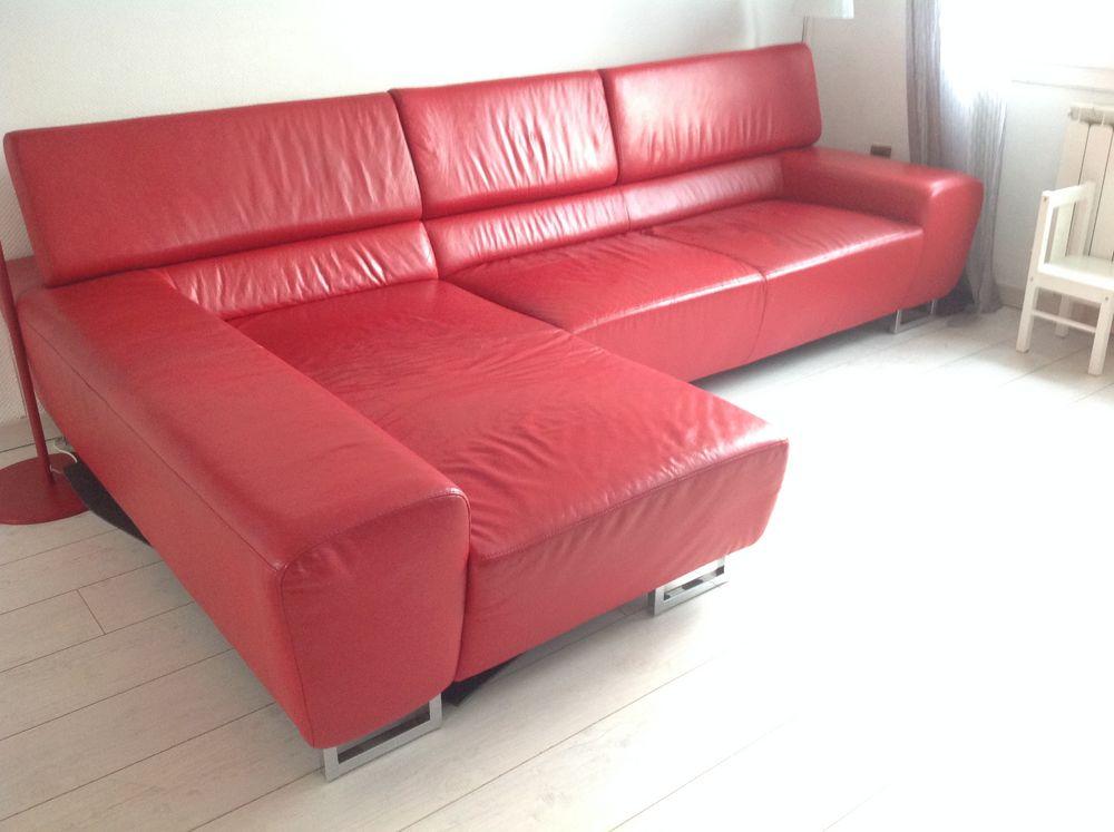 canap s cuir rouge occasion en lorraine annonces achat. Black Bedroom Furniture Sets. Home Design Ideas
