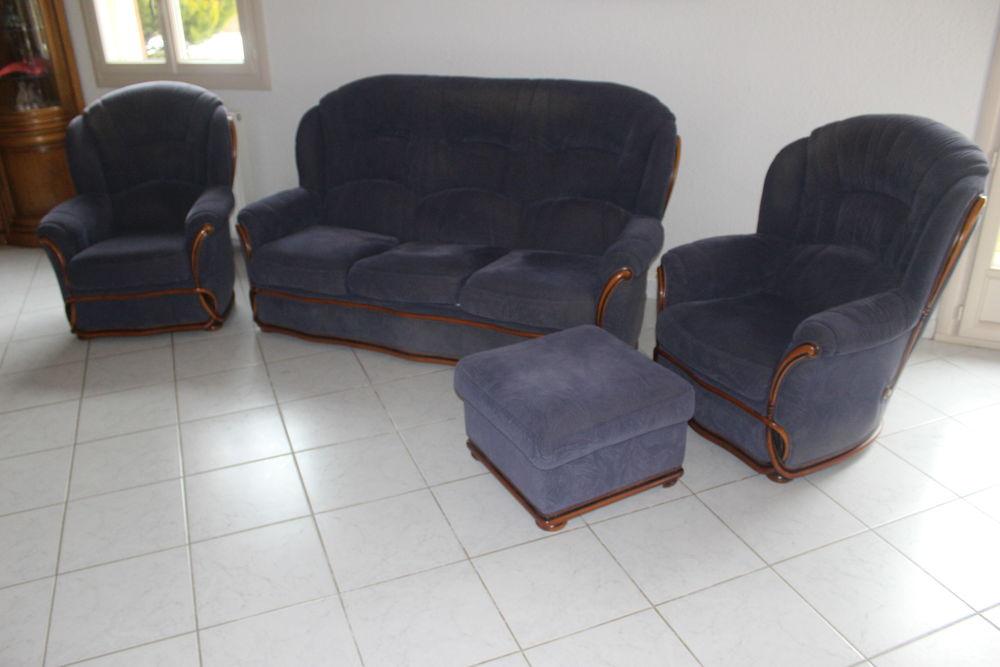 Achetez canap 3 pl avec 2 occasion annonce vente for Canape avec fauteuil