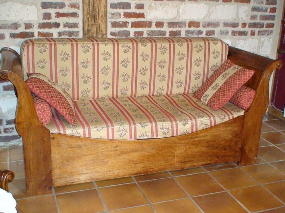 Canapé , banquette -lit ?'LOUIS PHILIPPE'' ou lit bâteau 190 Pont-à-Marcq (59)