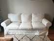 Canape blanc ikea ektorp dehoussable magnifique Meubles