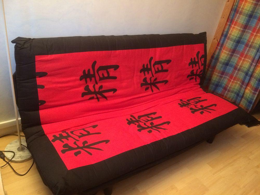 Canapé clic clac futon 100 Paris 20 (75)