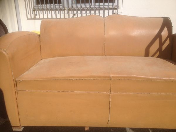 Achetez canap club cuir a r nover annonce vente lorient 56 wb149813253 - Canape club cuir occasion ...