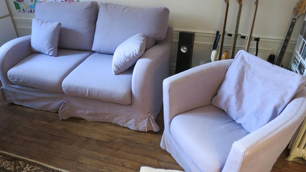 Canapé convertible avec matelas bultex + fauteuil 150 Vincennes (94)