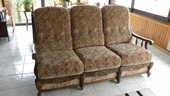 Canapé convertible + 2 fauteuils  150 Rolampont (52)