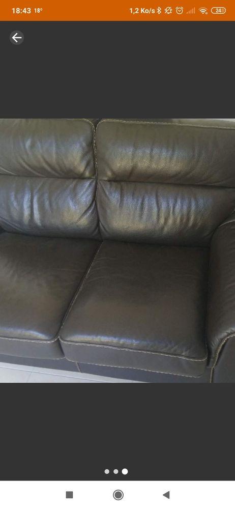 Canapé cuir de buffle  350 Vitrolles (13)