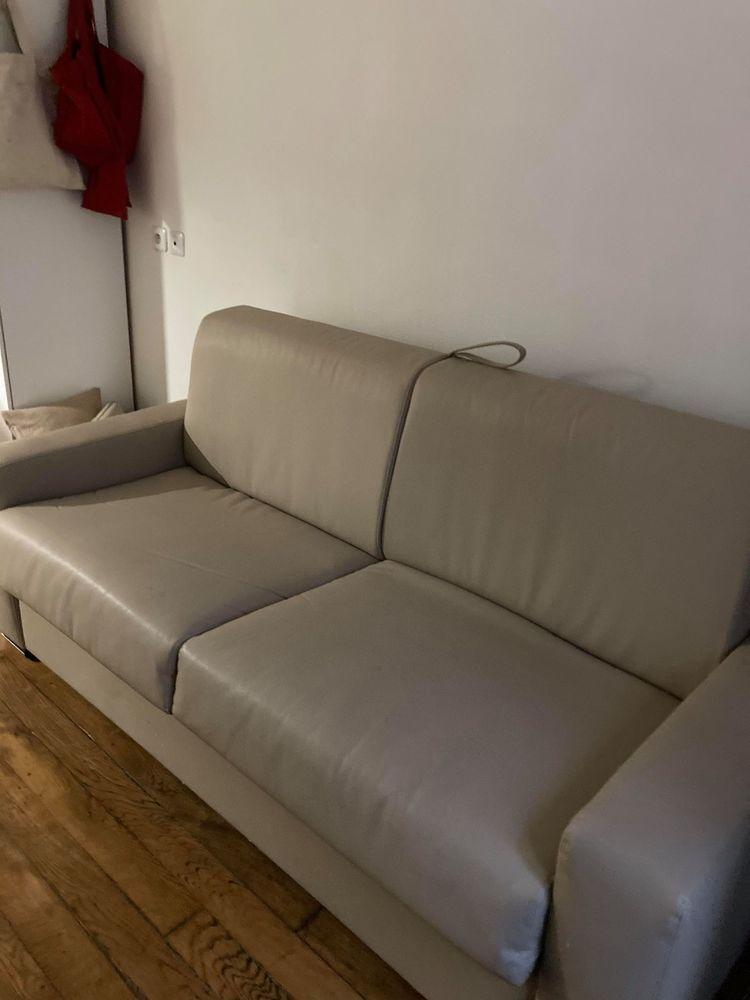 Canapé en cuir Convertible Rapido 140 600 Paris 3 (75)