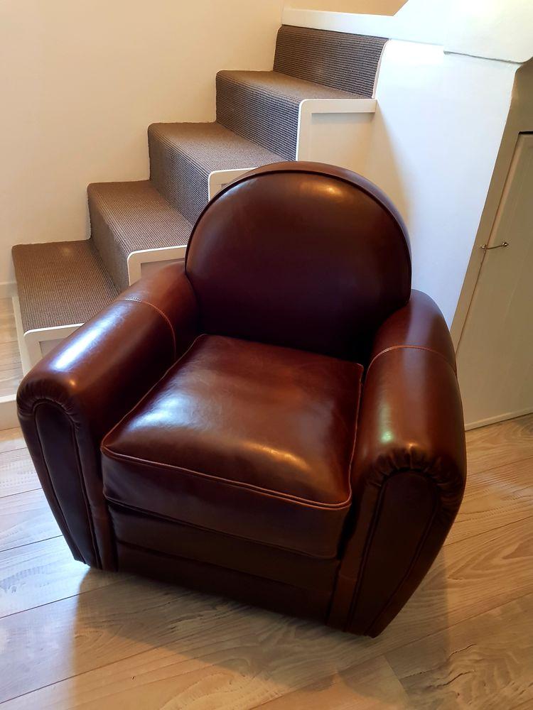 f5bf62c1cc48fb Achetez canapé cuir fauteuil occasion, annonce vente à Reviers (14)  WB159766068