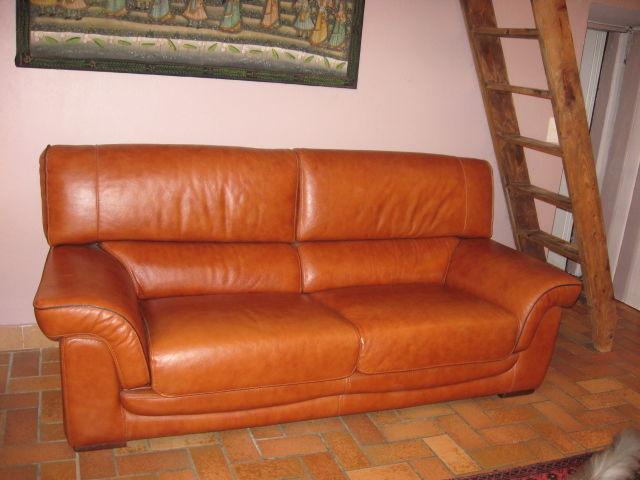 Achetez canap cuir de haute occasion annonce vente les ardillats 69 wb1 - Canape cuir haute qualite ...