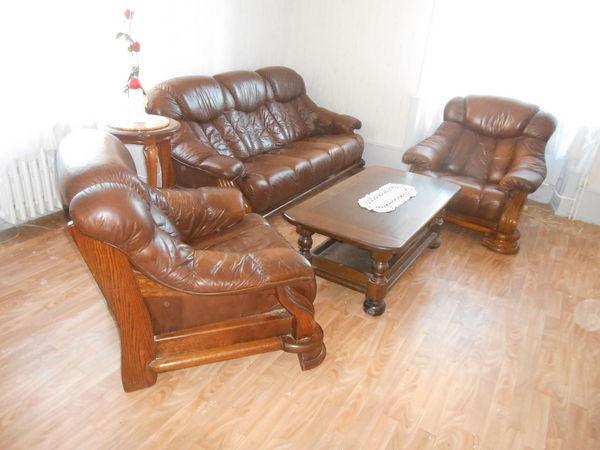 achetez canap 233 cuir marron 3 occasion annonce vente 224 delle 90 wb148574700