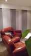 1 canapé cuir marron et 2 fautueils, style club Chantepie (35)