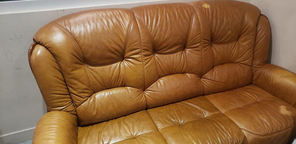 Canapé cuir marron  130 Paris 11 (75)