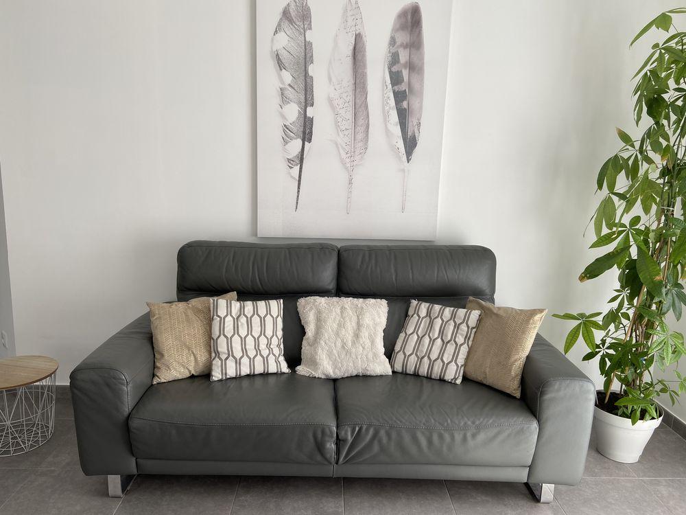 Canapé en cuir de qualité POLTRON È SOFÀ  350 Baillargues (34)