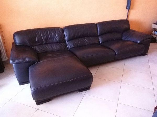 achetez canap 233 cuir roche quasi neuf annonce vente 224 ajaccio 20 wb150211604
