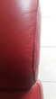 """canapé cuir rouge """"Hermès"""", 3 places fixes. Meubles"""