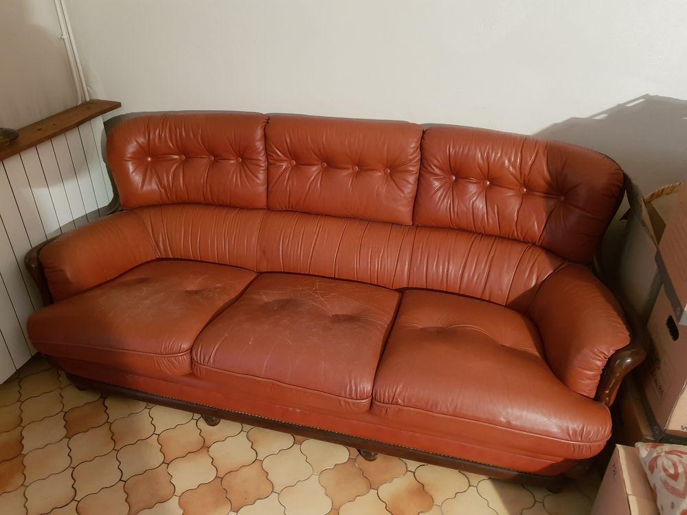 Canapé cuir 50 Pau (64)